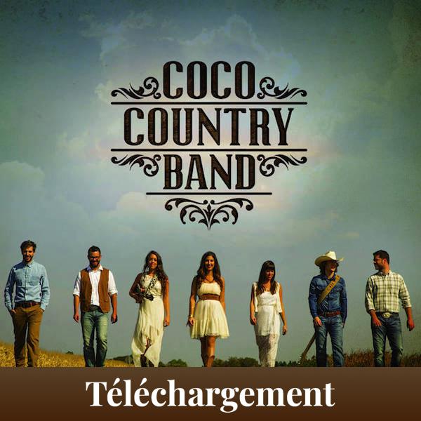 Album éponyme du Coco Country Band disponible en format virtuel, prêt à télécharger!